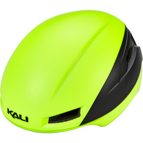 Kali Tava Flow Casque Homme, fluoro yellow/black